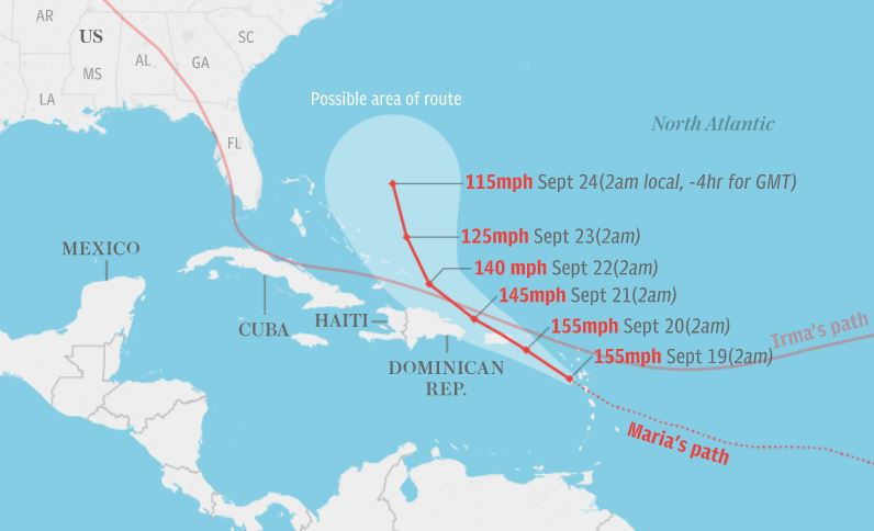 Hurricane Maria Update 9/20