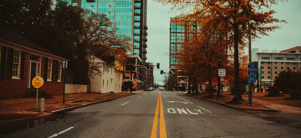 Travel through downtown Little Rock when visiting Arkansas.