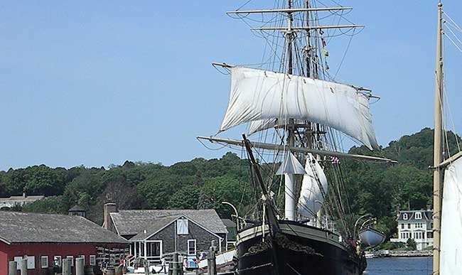 Be sure to check Mystic Seaport when visiting Connecticut