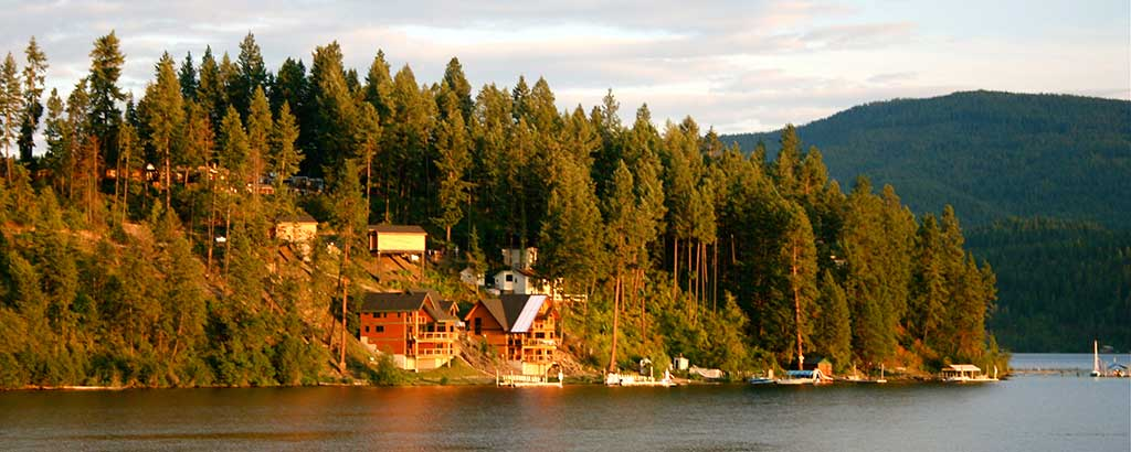 Idaho has many great places to visit like Coeur d'Alene in the Northern section of the state.