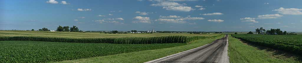 While traveling through Illinois, you may pass through many corn fields throughout the state.