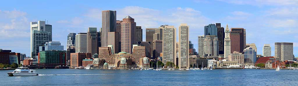See the magestic skyline of Boston, one of the oldest cities as you travel to Massachusetts.