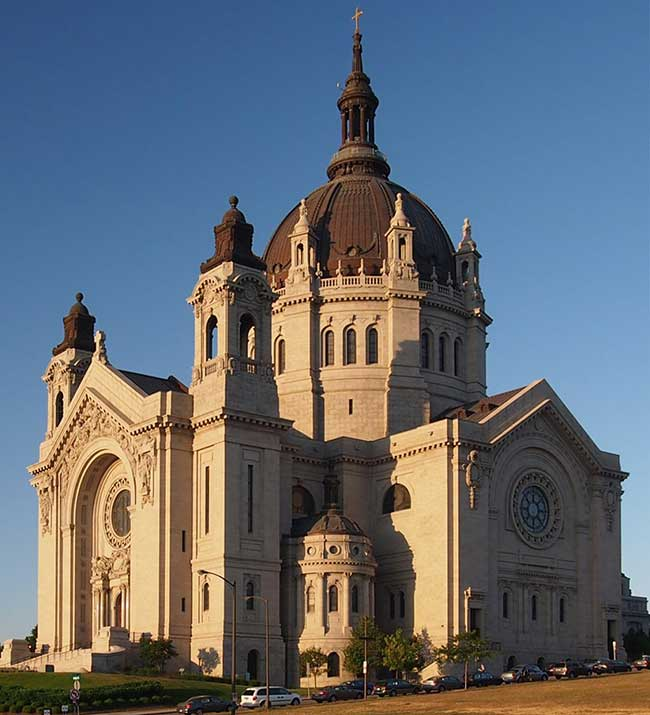 Be sure to check out St. Paul Cathedral next time you drive through St. Paul, Minnesota.