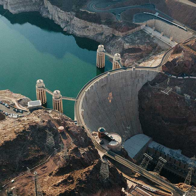Check out the Hoover Dam next time you visit Nevada.