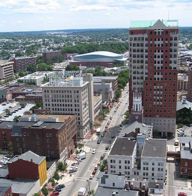 Visit downtown Manchester next time you are in New Hampshire.