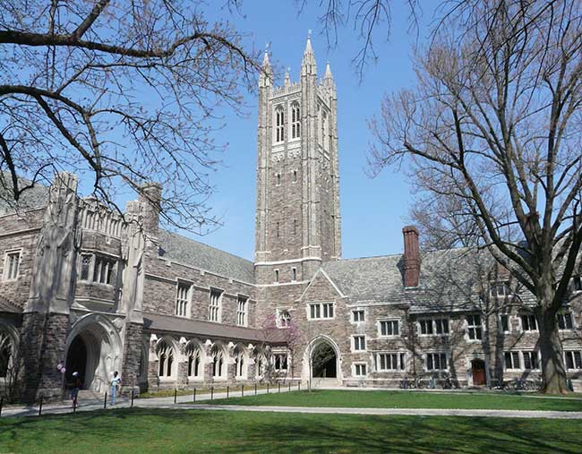 Visit the beautiful Princeton University campus when you travel to New Jersey.