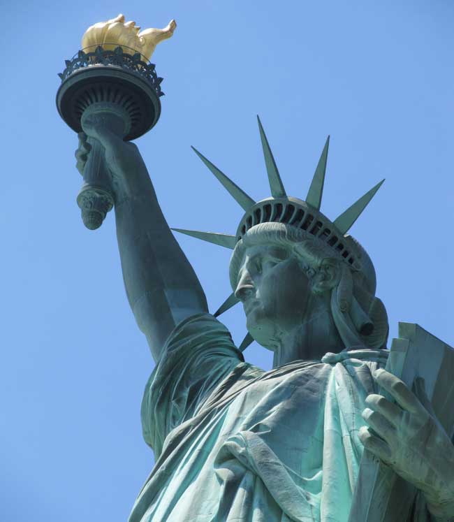 Be sure to check out the Statue of Liberty when you visit New York City