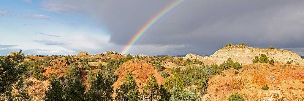 Be sure to visit Theodore Roosevelt National Park when you travel to North Dakota.