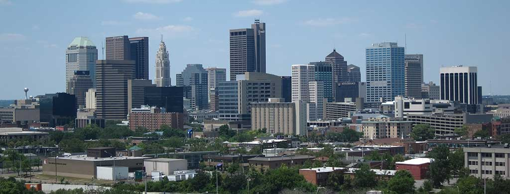 Check out the Columbus skyline when you're traveling through Ohio.