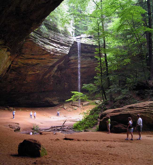 Be sure to visit Ash Cave in Hocking Hills State Park the next time you are in Ohio.