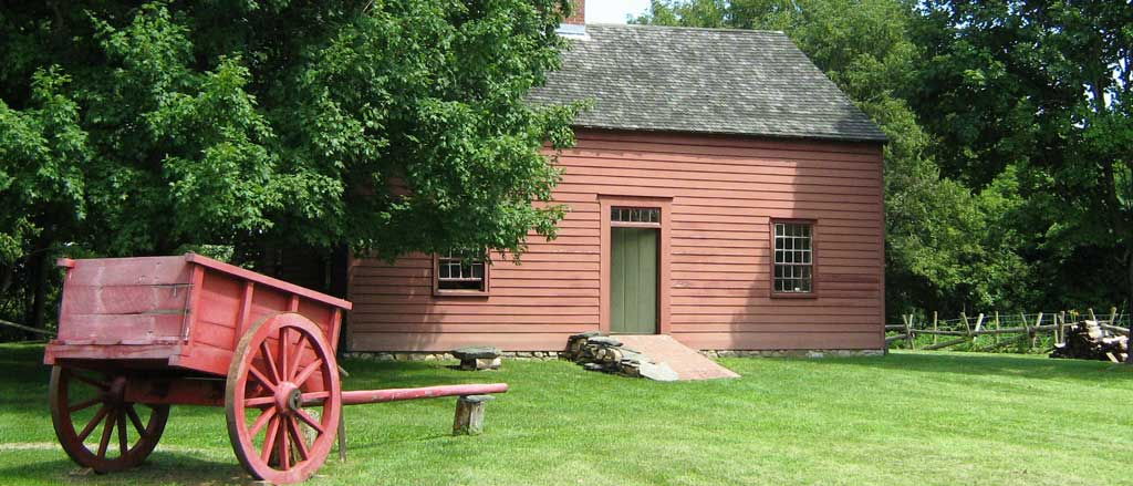 Be sure to visit the historic Ethan Allen Homestead when you're in Vermont.