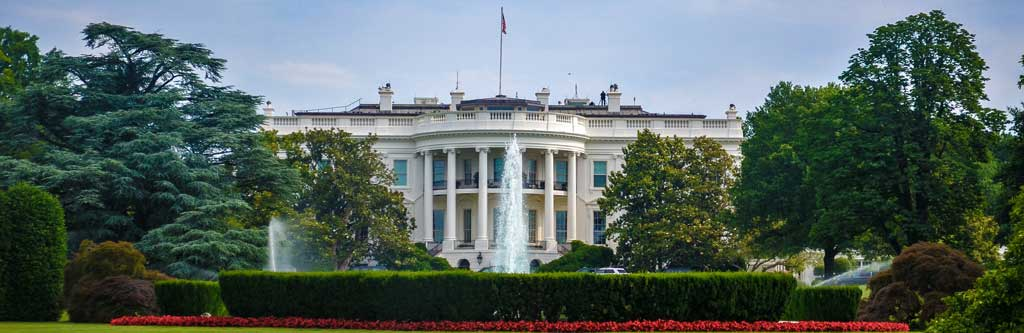 Be sure to check out the White House when you travel through Washington DC