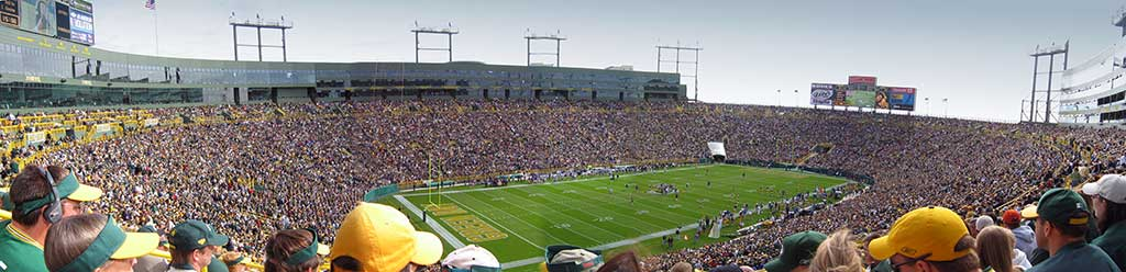 Check out Lambeau Field, home of the Green Bay Packers the next time you visit Wisconsin.