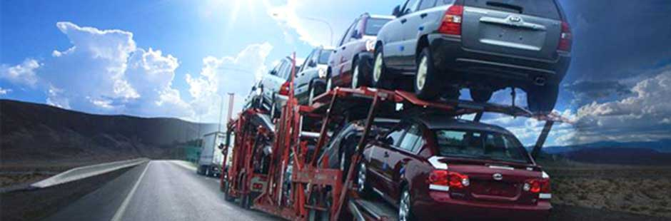 10-car open carrier shipping vehicles from California to Maine Auto Transport