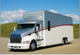 enclosed auto shipping California to Kansas